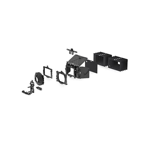 LMB 4x5 Mattbox set with 3 stage clamp on 01