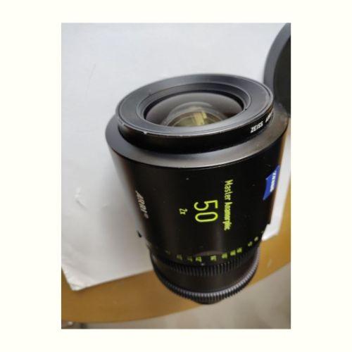 1 x Master Anamorphic 50 T1.9 F Cineom DMCC Preowned Lens Dubai UAE