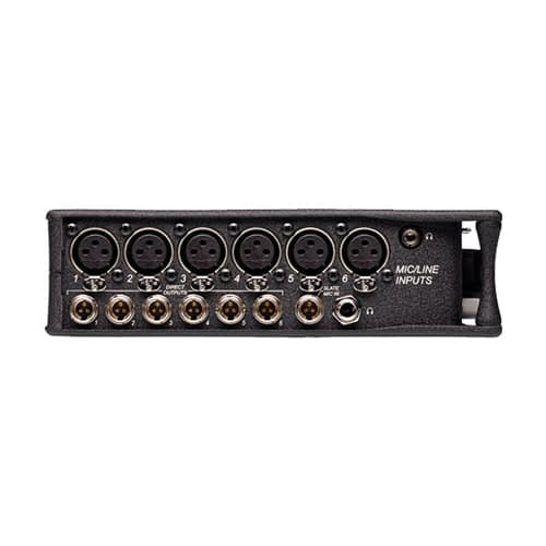 Sound Devices 664 Six Channel Portable Production Mixer with Integrated Recorder 4