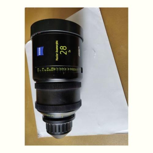 1 x Master Anamorphic 28 T1.9 F Cineom DMCC Preowned Lens Dubai