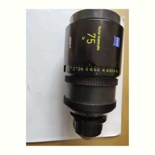 1 x Master Anamorphic 75 T1.9 F Cineom DMCC Preowned Lens Dubai