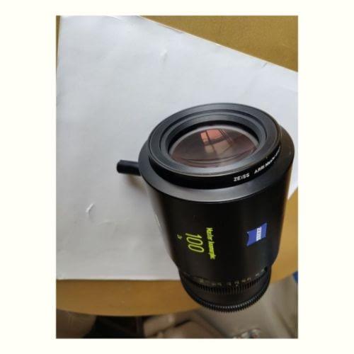 1 x Master Anamorphic 100 T1.9 F Cineom DMCC Preowned Lens Dubai UAE