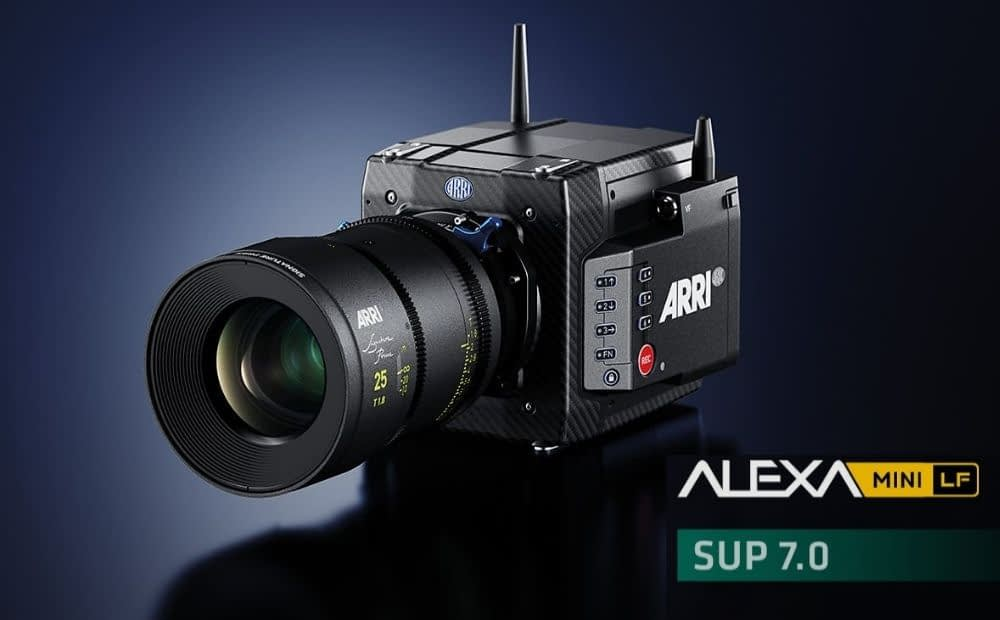 Cineom ARRI ALEXA Mini LF Software Update Package 7