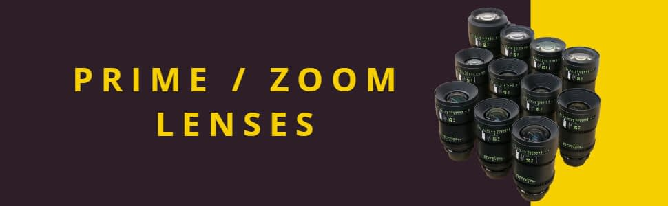 PRIME ZOOM LENSES Cineom DMCC