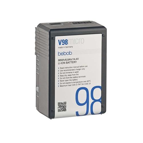 Bebob Micro VMount Li Ion Battery 14.4V98Wh 01