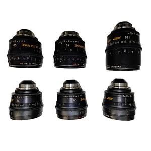 Set of ARRI Ultra Prime Lenses 3