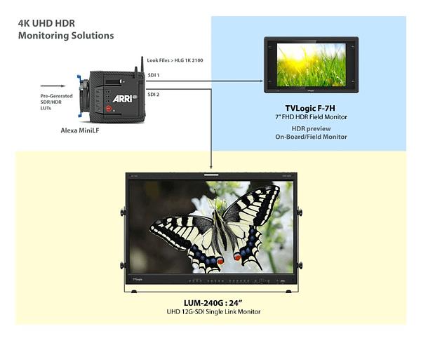 10 4K UHD HDR Monitoring Option 2 24 Inches