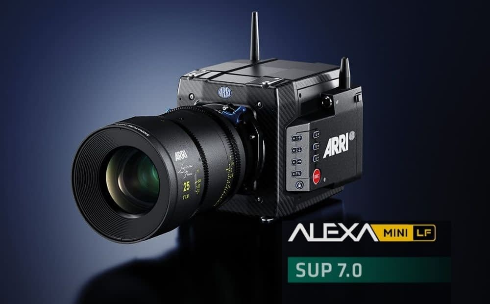 Cineom AARRI Releasing ALEXA Mini LF SUP 7 Software Update